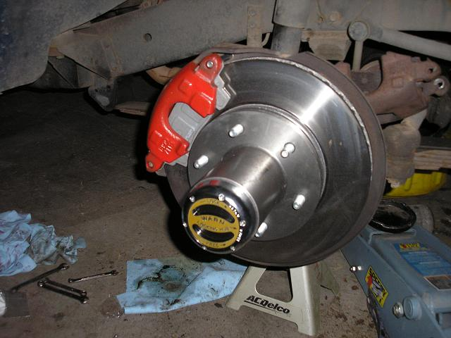 Ford E350 4x4 >> Rotor Replacement
